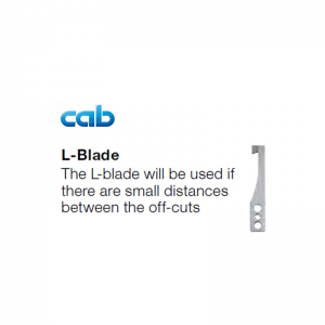 'L' Shaped Cab Hektor 2 Blade Replacement Part