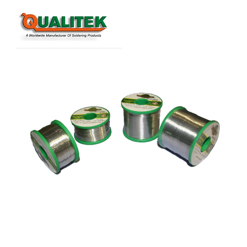 Qualitek NC 600 Clear Residue No-Clean Lead Free Solder Wire