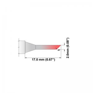 Thermaltronics K Series Tip Cartridges KxxBV020
