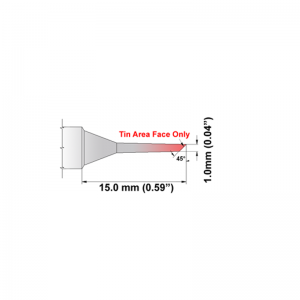 Thermaltronics K Series Tip Cartridges KxxBVF010