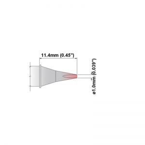 Thermaltronics K Series Tip Cartridges KxxCH010