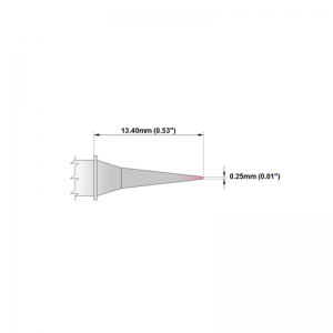 M6MF375 Thermaltronics soldering tip Micro Fine 0.25mm STTC-090
