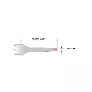 Thermaltronics P Series Tip Soldering Cartridges PMxxCS154