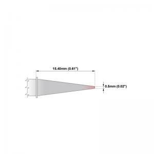 Thermaltronics P Series Tip Soldering Cartridges PMxxCS155