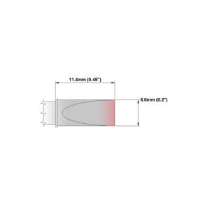 Thermaltronics P Series Tip Soldering Cartridges PMxxLC650
