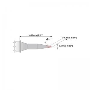 Thermaltronics P Series Tip Soldering Cartridges PMxxLR400
