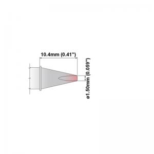 Thermaltronics S Series Soldering Tip Cartridges SxxCH015