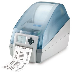 CAB MACH4 Label Printer B with tear off plate