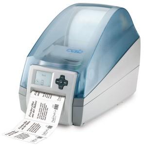 CAB MACH4 Label Printer B with tear off plate