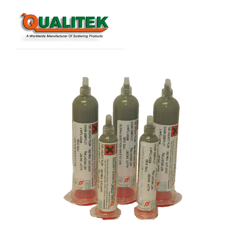 Qualitek 619D Dispensing Solder Paste