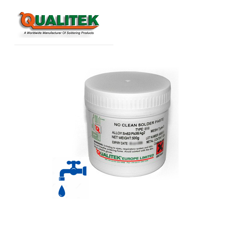 Qualitek 775-2 Water Soluble Solder Paste