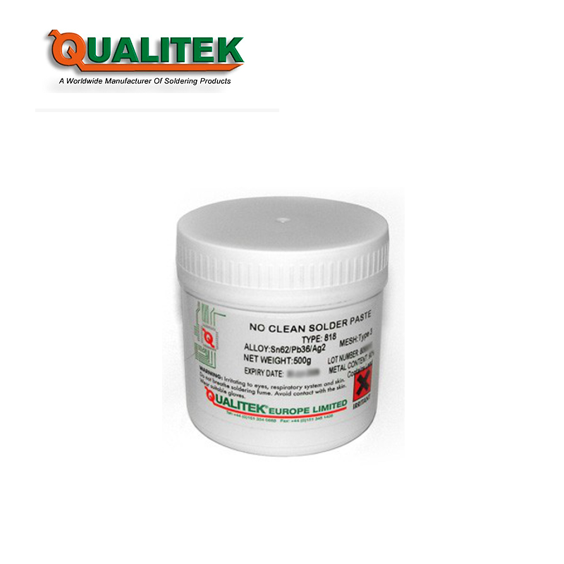 Qualitek 818 No Clean Solder Paste