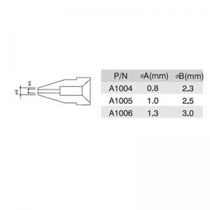 Quick 201B desoldering de soldering tips