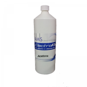 Acetone cleaning agent
