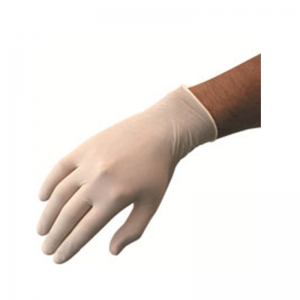 Latex Powdered Disposable Gloves
