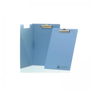 Electrostatic dissipative clip boards