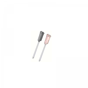 Straight cannula Teflon lined dispensing needle tips
