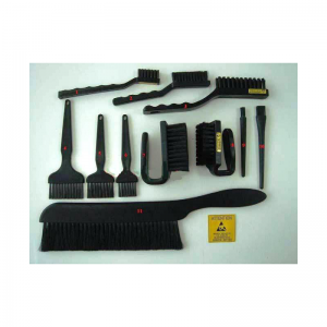 ESD flux removal brushes