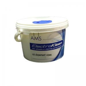 Screen and stencil wipes oil dispersant
