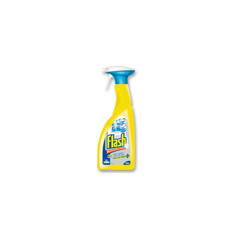 Flash multisurface and glass spray cleaner 750ml