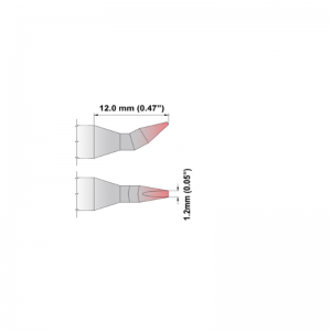 Thermaltronics K Series Tip Cartridges KxxCB012