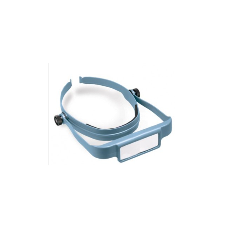 Magnifying visor headband